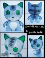 Custom Trikky - Gray Kitty by Arborpunk