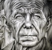 Portrait of an old man by voodugirl