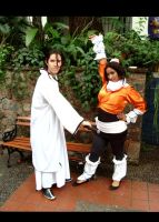 Yourochi and Aizen cosplay by Ditza