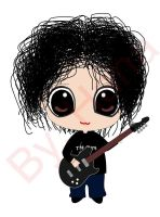Robert Smith Chibi by BrunaHana
