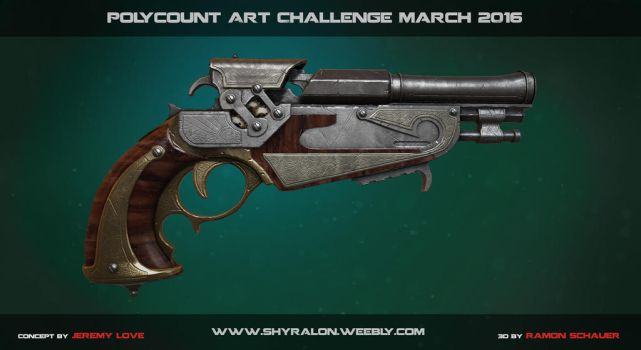 Polycount Monthly Noob Challenge March 2016 by Shyralon