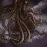 The Fearsome Sky Kraken by coolbyproxy
