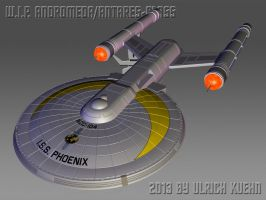 W.I.P. ANDROMEDA/ANTARES-CLASS ISO-012-A by ulimann644