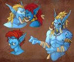 Troll Doodles by aureath