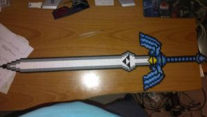 Bead sprite: zelda mastersword by Major-Owen