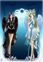Commission Arch-Guardian-Angel by Yettyen