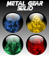 Metal Gear Solid Orbs by firba1
