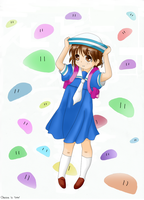 Ushio in color by Chezza-yume