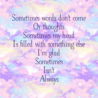 Sometimes my head is in the clouds by Words-from-my-Soul