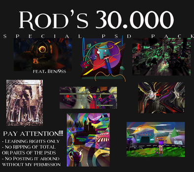 Rod's 30.000 Psd Pack by RodTheSecond