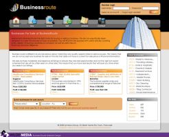 Business Route Website Design by wilde-media