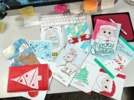 Holiday Card Project by AnaMoon