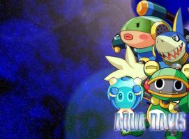 Wallpaper - Aqua Navis by mechsaiyan