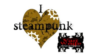 i love steampunk by Vanwolfe