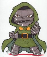 Chibi-Doom 2. by hedbonstudios