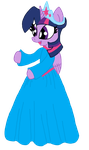 Twilight In A Princess Gown by LorettaFox