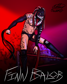 Finn Balor, Demon King by Smooth-Criminal-13