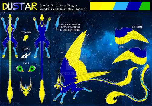 Dustar - reference sheet by Dragon31ns