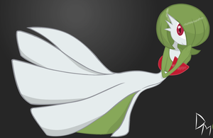 Gardevoir by Deadmeat1492
