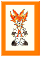 New FC: Thunder The Hedgehog by funkyjeremi