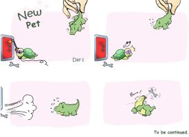 TMNT - New Pet (Day 1) by Chonik-the-Porcopine