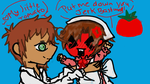 Romano and Spain-A little tomato by Pinkieisapartyanimal