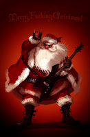Metal Santa by znodden