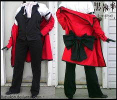 Grell Sutcliff's Coat by Ratsukorr