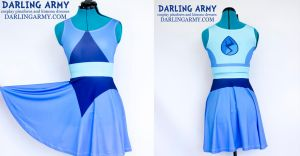 Lapis Lazuli Steven Universe Cosplay Printed Dress by DarlingArmy