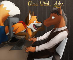 Guess what, oldy. by Torajio