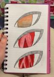 Eyes by redrosabell