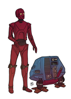 Droid Duo by Ryan-Rhodes