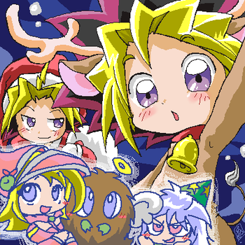 YuGiOh Christmas. by TheFallingSnow