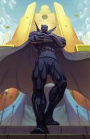 Black panther Comision by Brolo
