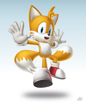 Tails Smashified by SirloinBurgers