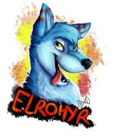 Commission badge for Elrohyr by KaotikJuju