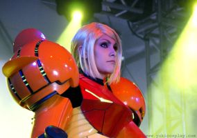 Metroid Cosplay Fearless Samus by Yukilefay