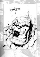Sketchbook Sketch 1 : The Thing by alessandromicelli