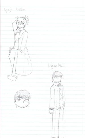 Persona 4 PnP Sketches 2