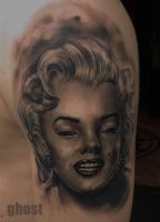 Marilyn Monroe tattoo by mil5