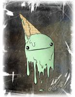 Ice Cream Ghost by BunnyBennett