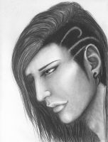 The OTHER side of Niv's hair by Kessira26