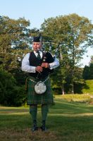 One piper piping by speedofmyshutter