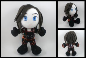 Mass Effect - Miranda plushie by eitanya