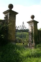 Stock - Old Iron Gates by OghamMoon