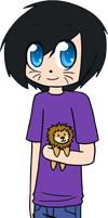 AmazingPhil And Lion by BritishNicky