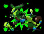 Grass Starter Family by SteveO126