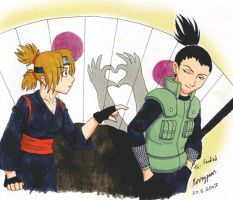 ShikaTema trade by merrypaws