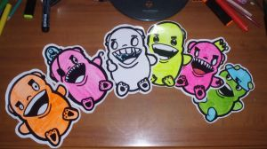 berry sticker mafia. by raskerz