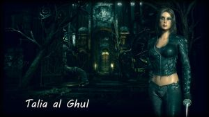 Talia al Ghul Wallpaper by BatmanInc